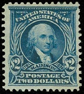 Price of US Stamp Scott #312 - US$2.00 1903 Madison. H.R. Harmer, Jun 2015, Sale 3007, Lot 3300