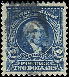 Cost of US Stamps Scott #312 - US$2.00 1903 Madison. Regency-Superior, Aug 2015, Sale 112, Lot 671