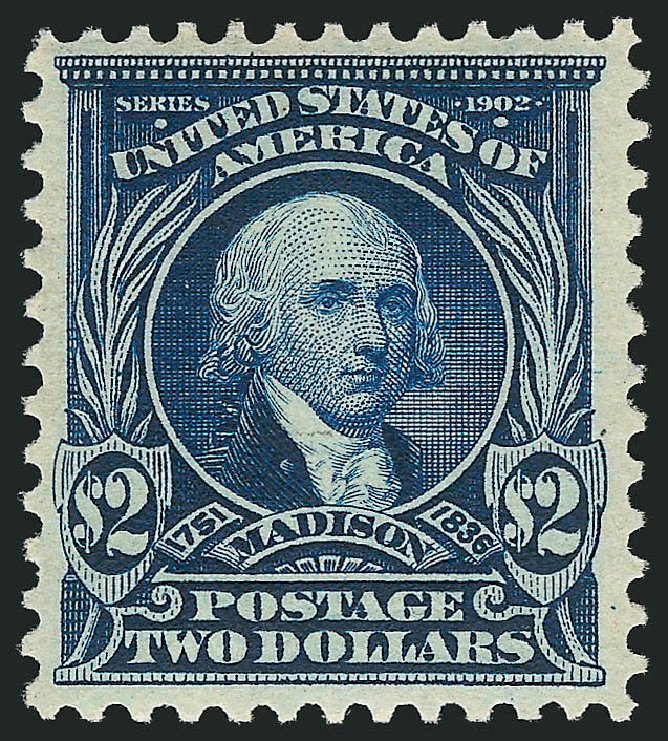 Costs of US Stamp Scott Catalogue 312 - 1903 US$2.00 Madison. Robert Siegel Auction Galleries, Apr 2015, Sale 1096, Lot 545