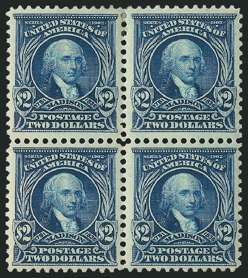 US Stamps Value Scott 312: 1903 US$2.00 Madison. Robert Siegel Auction Galleries, Apr 2015, Sale 1096, Lot 546