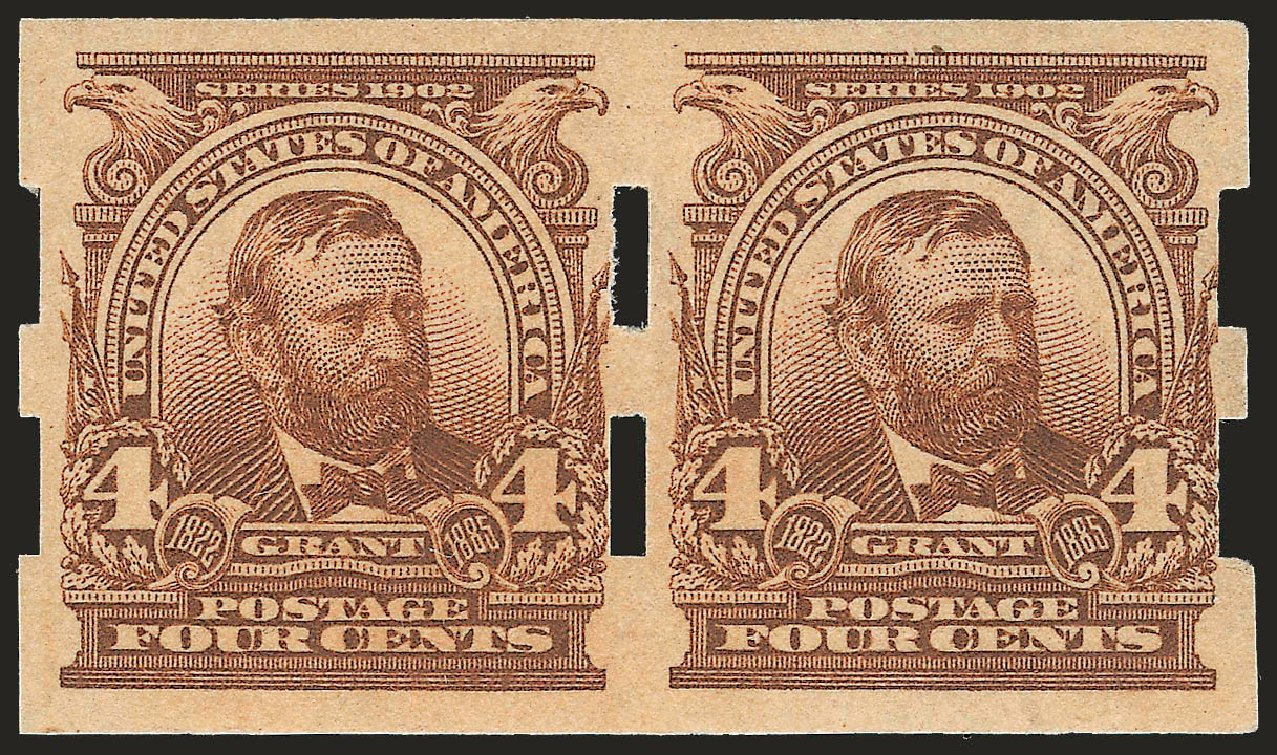 Prices of US Stamps Scott Catalog # 314A: 1908 4c Grant Imperf. Robert Siegel Auction Galleries, Sep 2009, Sale 968B, Lot 389