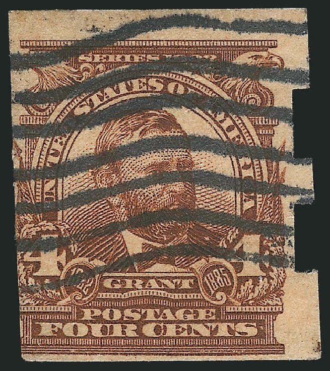 US Stamps Price Scott Catalogue # 314A - 4c 1908 Grant Imperf. Robert Siegel Auction Galleries, Mar 2013, Sale 1040, Lot 1673