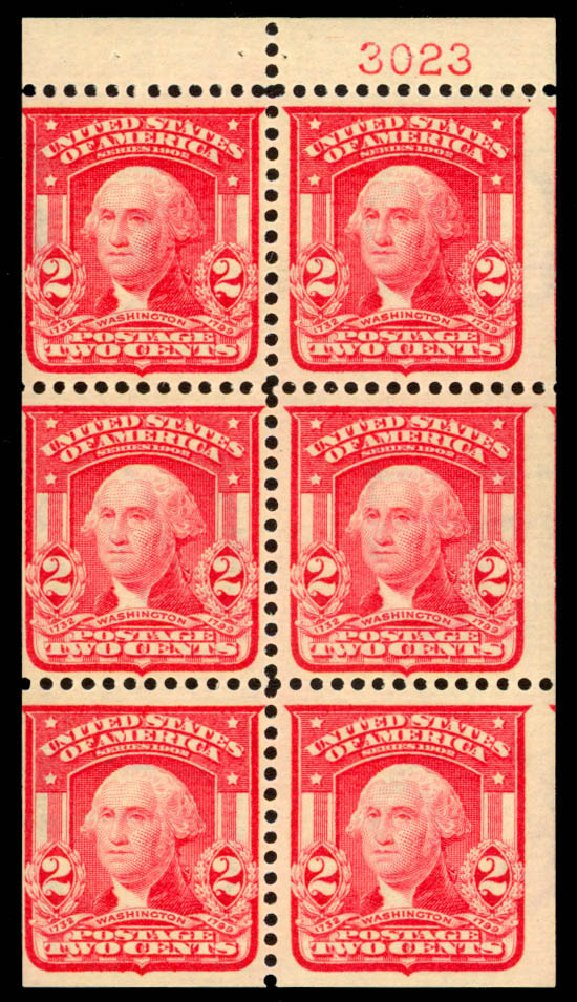 Prices of US Stamps Scott Catalog # 319: 2c 1903 Washington. Daniel Kelleher Auctions, Jan 2015, Sale 663, Lot 1637