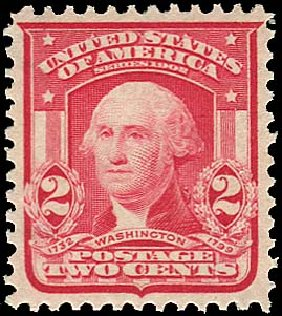 Costs of US Stamps Scott Cat. # 319: 2c 1903 Washington. Regency-Superior, Aug 2015, Sale 112, Lot 689