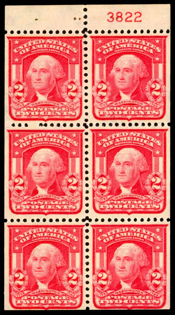 Cost of US Stamp Scott Cat. # 319 - 2c 1903 Washington. Daniel Kelleher Auctions, Jan 2015, Sale 663, Lot 1640