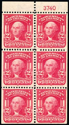 Value of US Stamp Scott # 319 - 1903 2c Washington. Schuyler J. Rumsey Philatelic Auctions, Apr 2015, Sale 60, Lot 2710