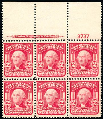 Price of US Stamps Scott Cat. #319: 2c 1903 Washington. Schuyler J. Rumsey Philatelic Auctions, Apr 2015, Sale 60, Lot 2902