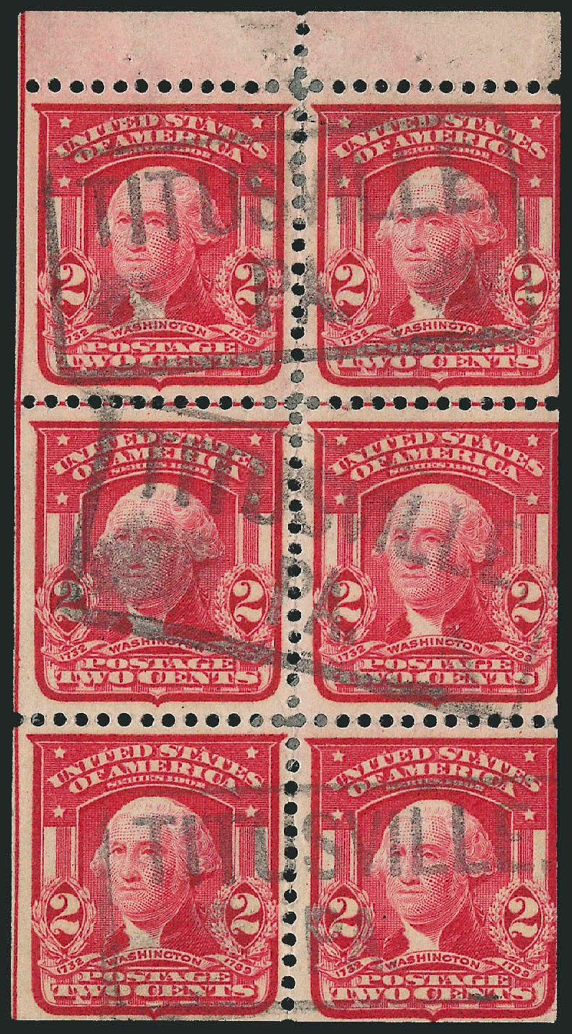 Price of US Stamp Scott 319: 2c 1903 Washington. Robert Siegel Auction Galleries, Feb 2015, Sale 1093, Lot 52