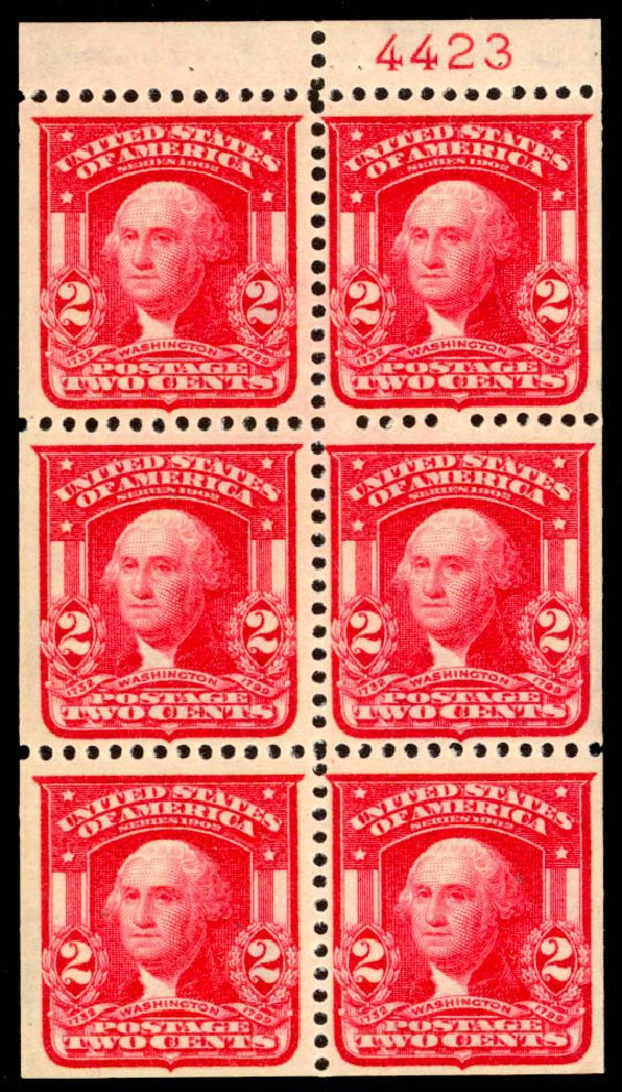 US Stamps Price Scott #319 - 1903 2c Washington. Daniel Kelleher Auctions, Jan 2015, Sale 663, Lot 1643