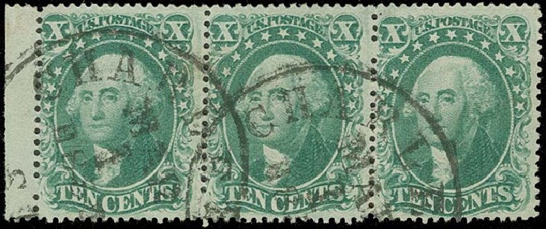 US Stamps Price Scott Catalogue #32 - 10c 1857 Washington. H.R. Harmer, Oct 2014, Sale 3006, Lot 1070