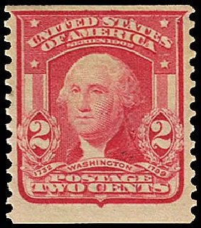 US Stamp Prices Scott Cat. #322: 2c 1908 Washington Coil. Regency-Superior, Jan 2015, Sale 109, Lot 1108