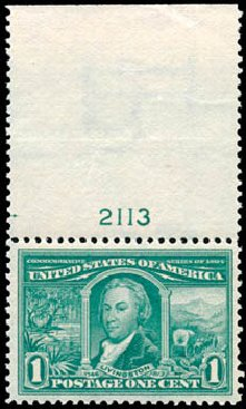 US Stamps Value Scott Cat. 323 - 1904 1c Louisiana Purchase Exposition. Schuyler J. Rumsey Philatelic Auctions, Apr 2015, Sale 60, Lot 2784