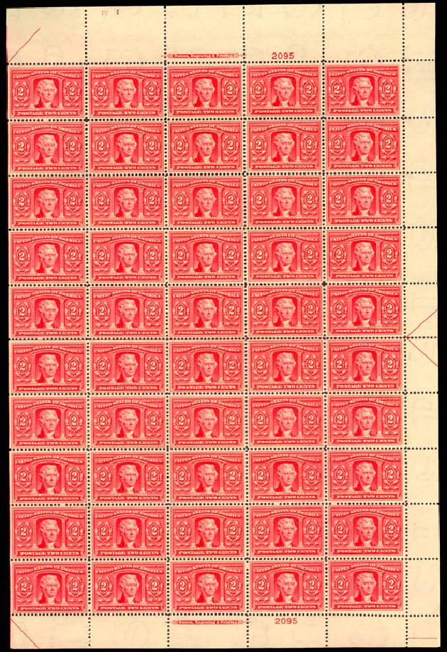 Costs of US Stamp Scott #324 - 1904 2c Louisiana Purchase Exposition. Daniel Kelleher Auctions, Jan 2015, Sale 663, Lot 1659