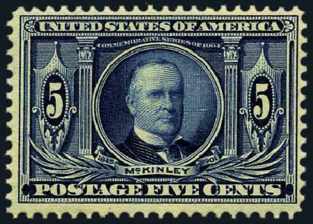Value of US Stamp Scott Catalogue 326 - 1904 5c Louisiana Purchase Exposition. Harmer-Schau Auction Galleries, May 2015, Sale 105, Lot 157