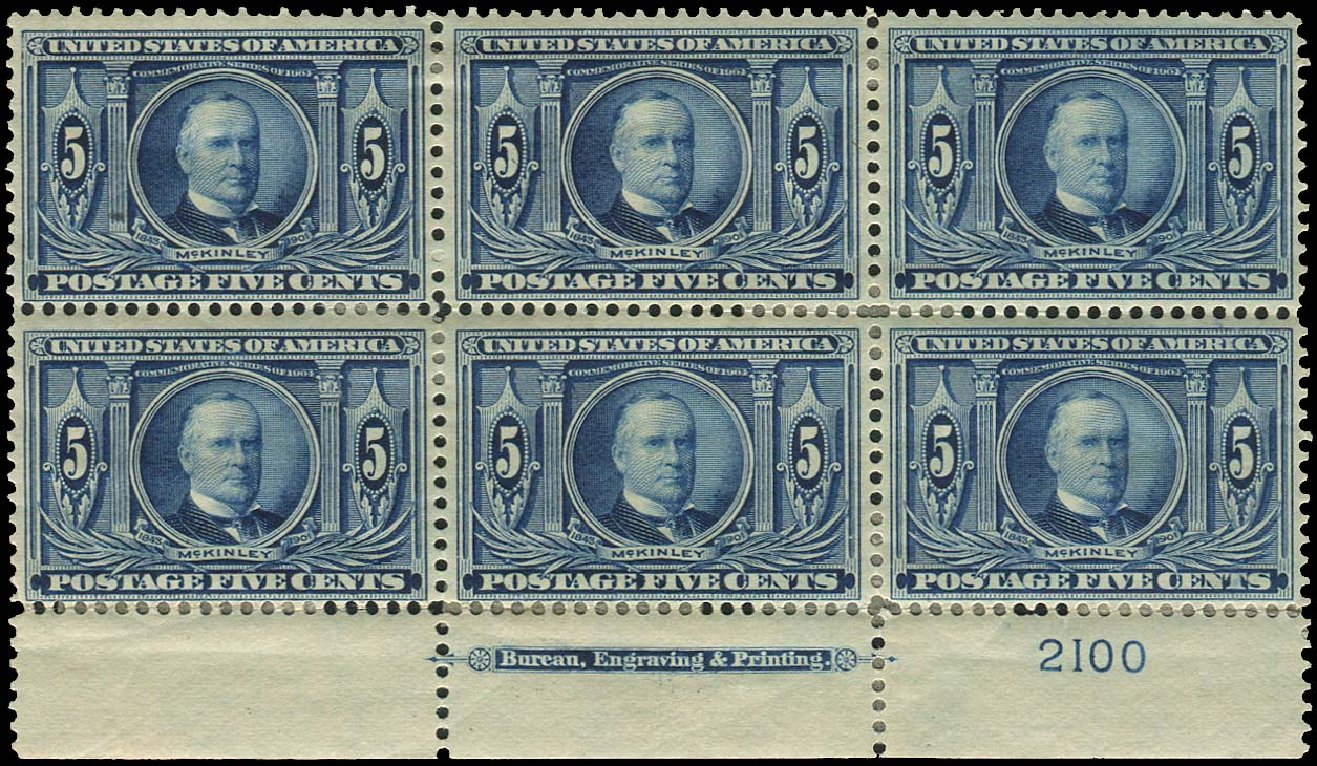 Price of US Stamps Scott # 326 - 5c 1904 Louisiana Purchase Exposition. Regency-Superior, Aug 2015, Sale 112, Lot 1317