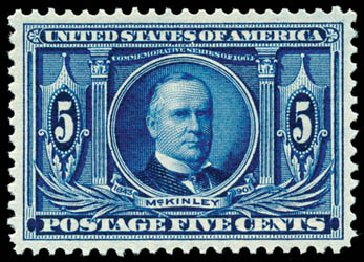 US Stamp Price Scott Cat. 326 - 5c 1904 Louisiana Purchase Exposition. Schuyler J. Rumsey Philatelic Auctions, Apr 2015, Sale 60, Lot 2327