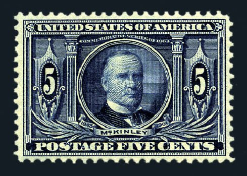 Prices of US Stamps Scott Catalog 326: 1904 5c Louisiana Purchase Exposition. Harmer-Schau Auction Galleries, Aug 2015, Sale 106, Lot 1751