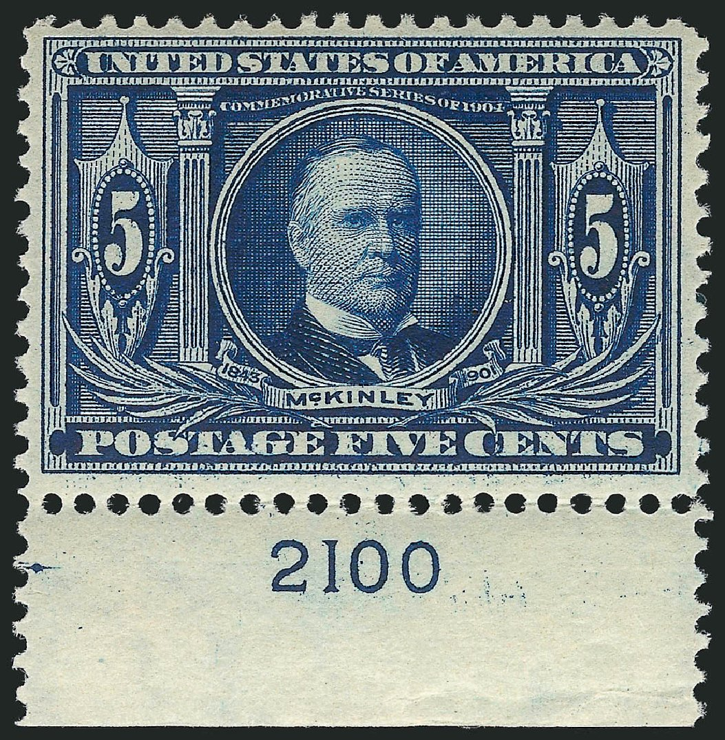 Values of US Stamps Scott Catalogue 326 - 5c 1904 Louisiana Purchase Exposition. Robert Siegel Auction Galleries, Apr 2015, Sale 1096, Lot 564