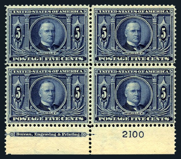 Price of US Stamps Scott Catalogue # 326: 1904 5c Louisiana Purchase Exposition. Harmer-Schau Auction Galleries, Aug 2015, Sale 106, Lot 1753