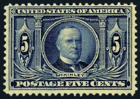 Cost of US Stamp Scott Catalog # 326: 5c 1904 Louisiana Purchase Exposition. Harmer-Schau Auction Galleries, May 2015, Sale 105, Lot 156