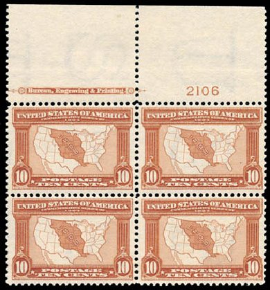 Price of US Stamp Scott Cat. # 327 - 10c 1904 Louisiana Purchase Exposition. Schuyler J. Rumsey Philatelic Auctions, Apr 2015, Sale 60, Lot 2910