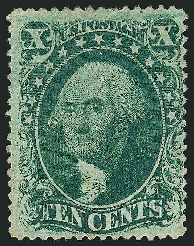 Price of US Stamp Scott Catalogue 33: 10c 1857 Washington. Robert Siegel Auction Galleries, Dec 2014, Sale 1090, Lot 1166