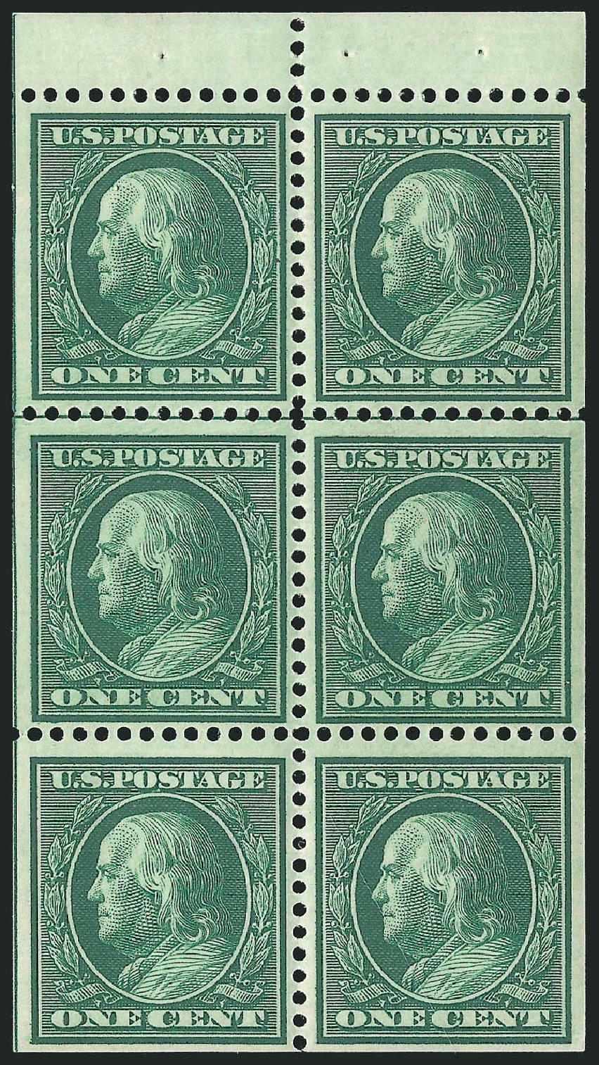 Value of US Stamps Scott Catalog # 331: 1908 1c Franklin. Robert Siegel Auction Galleries, Sep 2014, Sale 1078, Lot 465