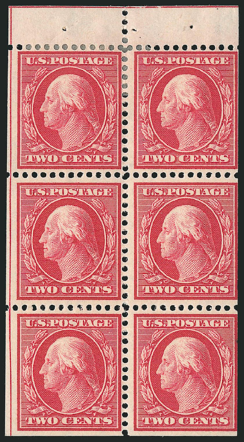 Prices of US Stamp Scott Catalogue #332: 1908 2c Washington. Robert Siegel Auction Galleries, Sep 2014, Sale 1078, Lot 468