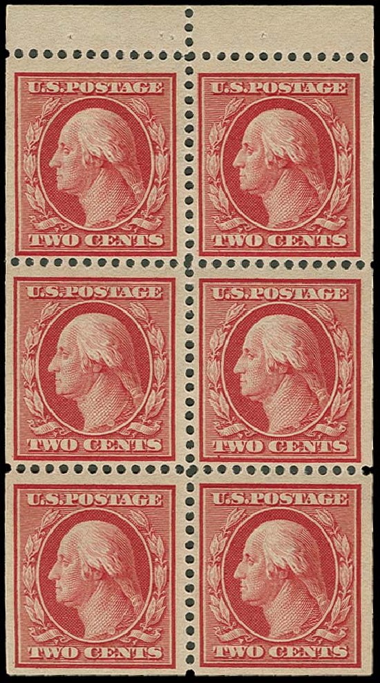 Value of US Stamp Scott Cat. #332: 1908 2c Washington. H.R. Harmer, Oct 2014, Sale 3006, Lot 1325
