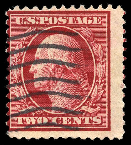 Price of US Stamps Scott # 332: 1908 2c Washington. Matthew Bennett International, Feb 2015, Sale 351, Lot 162