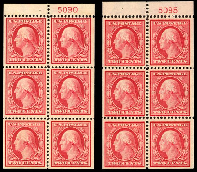 US Stamp Prices Scott #332 - 2c 1908 Washington. Daniel Kelleher Auctions, Jan 2015, Sale 663, Lot 1686