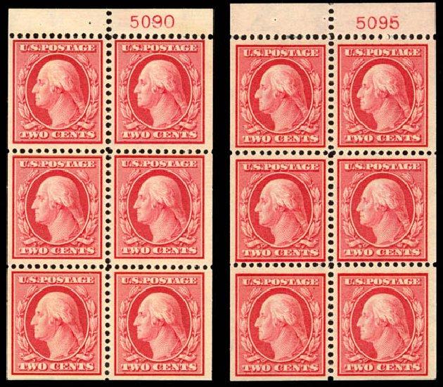 US Stamp Prices Scott #332 - 2c 1908 Washington. Daniel Kelleher Auctions, Jan 2015, Sale 663, Lot 1686