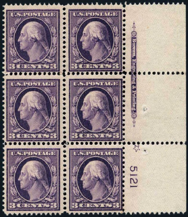 Price of US Stamp Scott Cat. #333: 3c 1908 Washington. Harmer-Schau Auction Galleries, Jan 2014, Sale 100, Lot 567