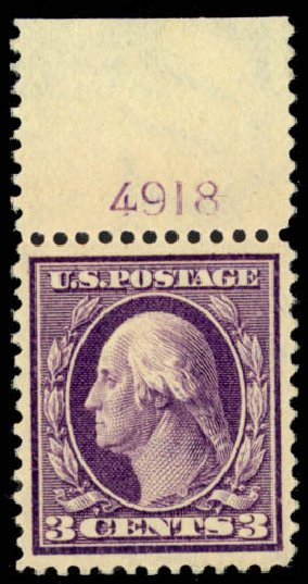 Price of US Stamp Scott Catalogue # 333 - 1908 3c Washington. Daniel Kelleher Auctions, Mar 2013, Sale 635, Lot 449