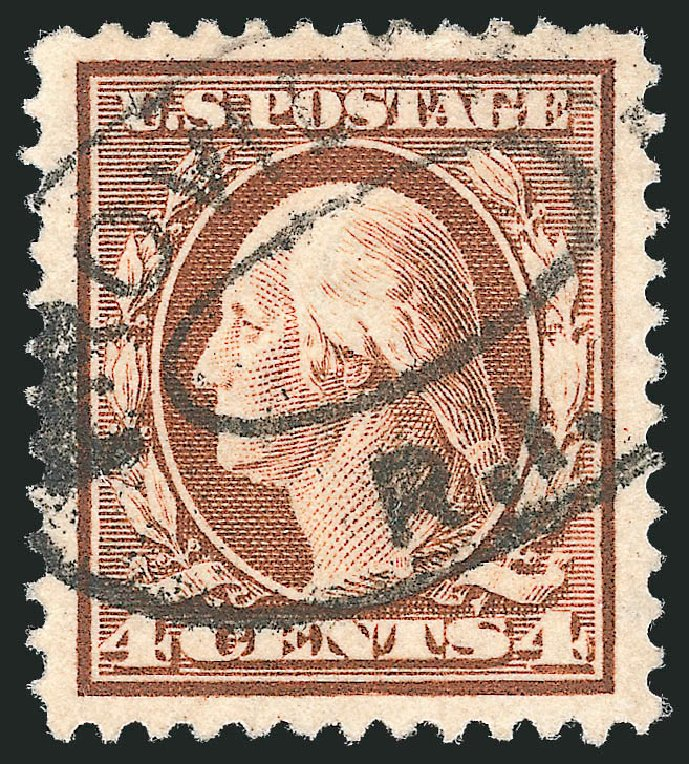 Cost of US Stamp Scott Catalog 334: 4c 1908 Washington. Robert Siegel Auction Galleries, Sep 2012, Sale 1028, Lot 325