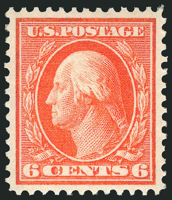 Value of US Stamps Scott Catalog #336: 6c 1909 Washington. Robert Siegel Auction Galleries, Dec 2014, Sale 1090, Lot 1450