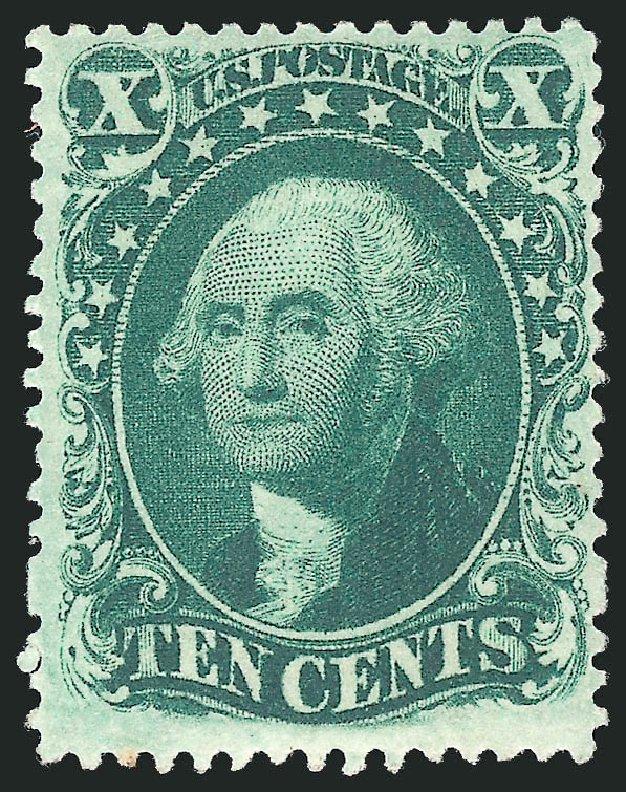 US Stamps Value Scott #34 - 10c 1857 Washington. Robert Siegel Auction Galleries, Apr 2015, Sale 1096, Lot 77