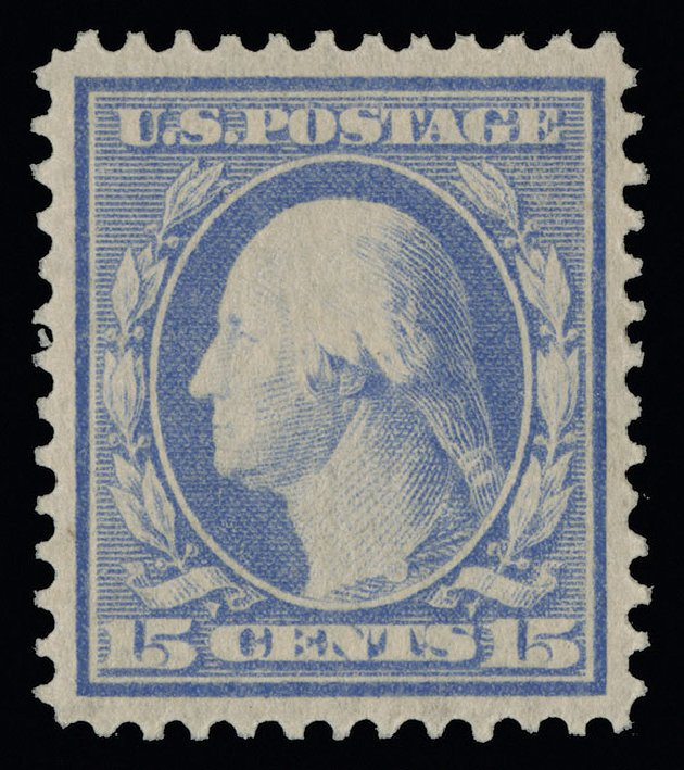 Cost of US Stamps Scott Cat. # 340 - 15c 1909 Washington. Spink Shreves Galleries, Aug 2013, Sale 144, Lot 211