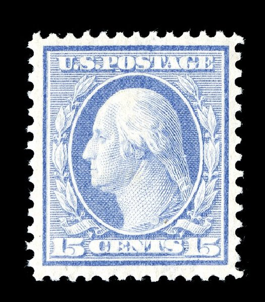 US Stamp Prices Scott Catalogue # 340: 15c 1909 Washington. Spink Shreves Galleries, May 2014, Sale 148, Lot 264