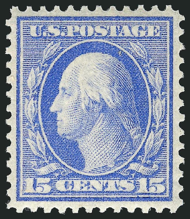 Cost of US Stamp Scott #340: 15c 1909 Washington. Robert Siegel Auction Galleries, May 2013, Sale 1044, Lot 243