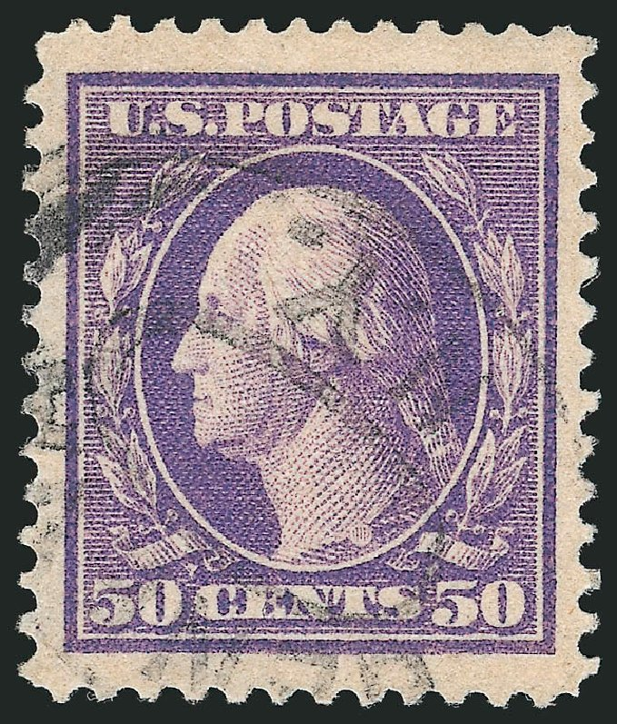 Price of US Stamps Scott Cat. # 341: 1909 50c Washington. Robert Siegel Auction Galleries, Feb 2015, Sale 1093, Lot 96