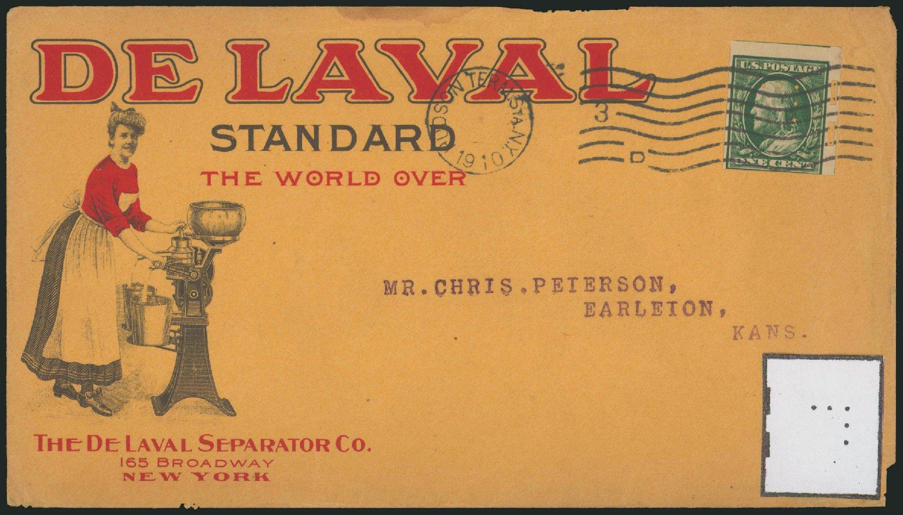 Value of US Stamps Scott Cat. # 343: 1c 1908 Franklin Imperf. Robert Siegel Auction Galleries, Jun 2015, Sale 1105, Lot 2647