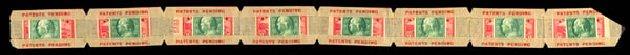 Values of US Stamps Scott Cat. # 343: 1c 1908 Franklin Imperf. Daniel Kelleher Auctions, Sep 2014, Sale 655, Lot 409