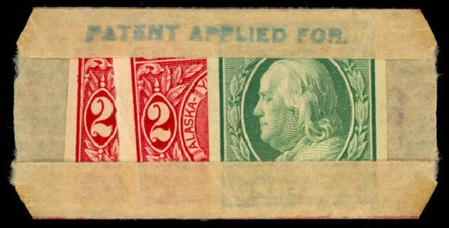 Value of US Stamps Scott Cat. # 343: 1c 1908 Franklin Imperf. Daniel Kelleher Auctions, Mar 2013, Sale 635, Lot 456