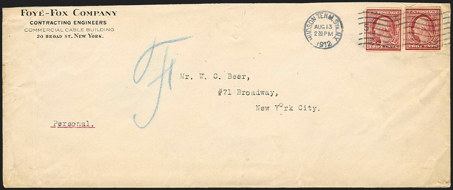 Value of US Stamps Scott Catalogue 344: 1909 2c Washington Imperf. Robert Siegel Auction Galleries, Jun 2015, Sale 1106, Lot 3152