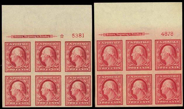 US Stamp Value Scott Cat. # 344 - 2c 1909 Washington Imperf. Daniel Kelleher Auctions, Apr 2012, Sale 629, Lot 303
