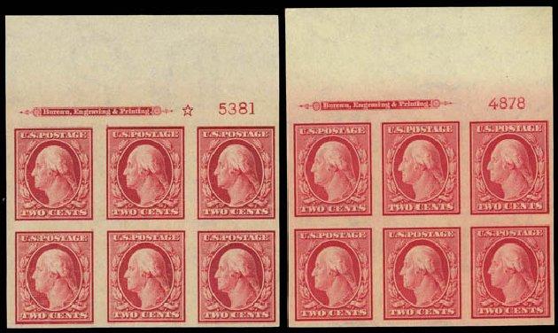US Stamp Value Scott Cat. # 344 - 2c 1909 Washington Imperf. Daniel Kelleher Auctions, Apr 2012, Sale 629, Lot 303