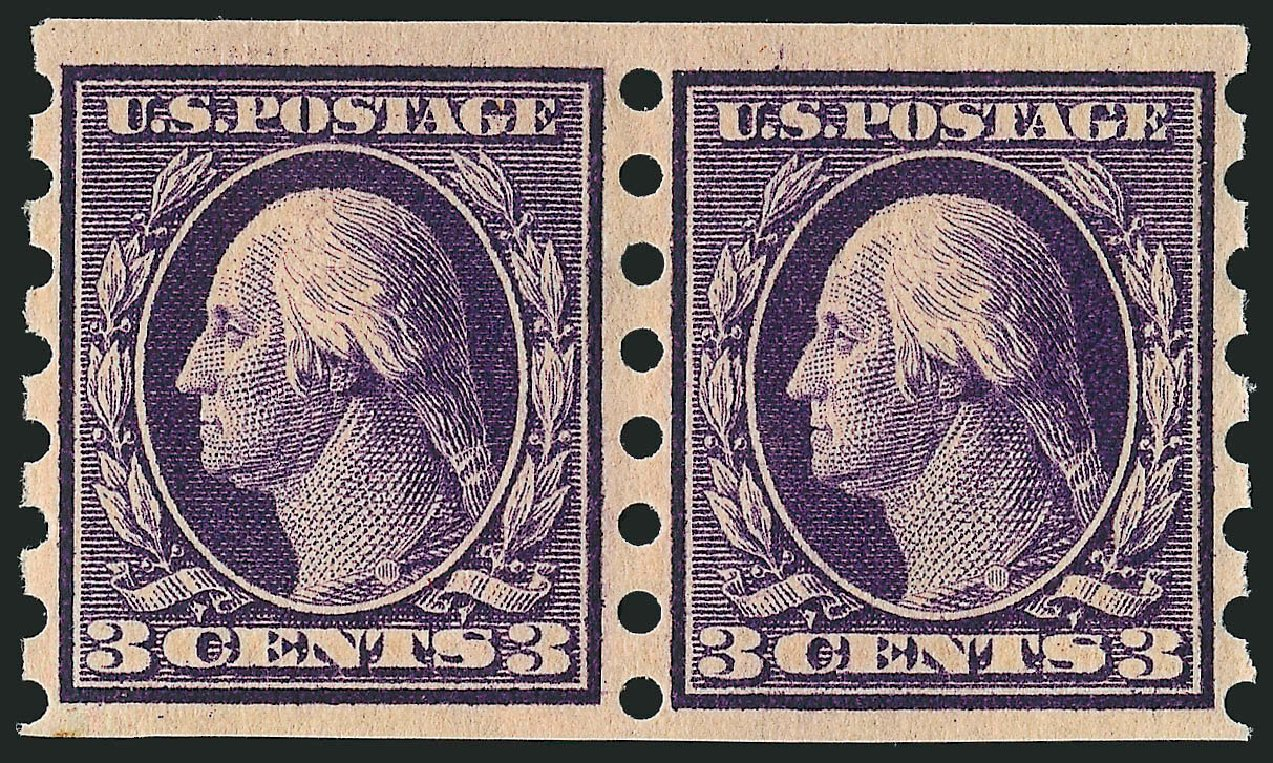 Price of US Stamp Scott #345 - 3c 1909 Washington Imperf. Robert Siegel Auction Galleries, Dec 2008, Sale 967, Lot 4576