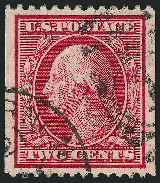 Price of US Stamps Scott Catalog #349: 2c 1909 Washington Coil. Robert Siegel Auction Galleries, Sep 2014, Sale 1078, Lot 484