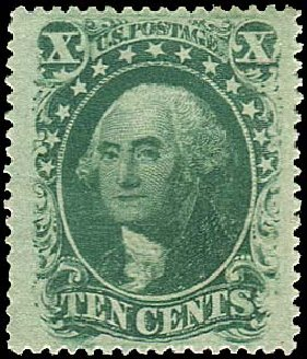 Costs of US Stamps Scott Cat. #35 - 1859 10c Washington. Regency-Superior, Nov 2014, Sale 108, Lot 119